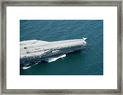 X-47b Unmanned Combat Air Vehicle Framed Print