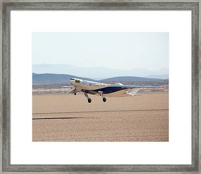 X-48c Sub-scale Research Aircraft Framed Print