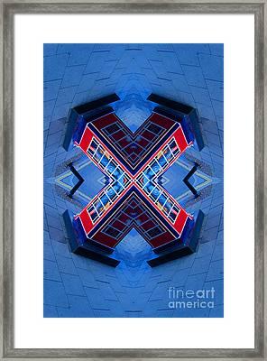 X Box Framed Print