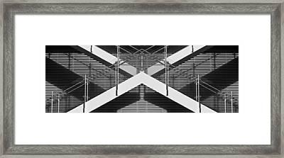 X Factor Framed Print by Don Durante Jr