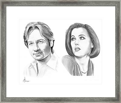 X-files  Framed Print by Murphy Elliott