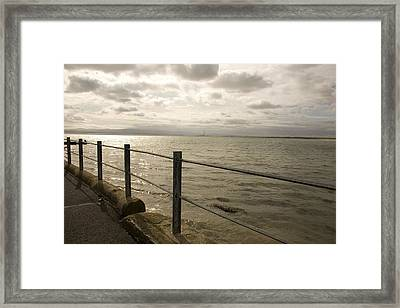 Across The Bay Framed Print by Pro Shutterblade