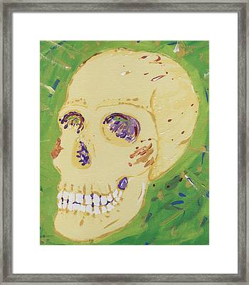 X-ray Jones Framed Print by Yshua The Painter