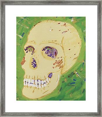 X-ray Jones Framed Print