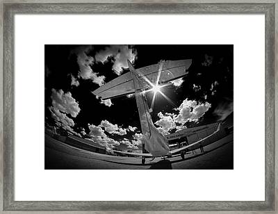 X Ray Plane Framed Print by Paul Job