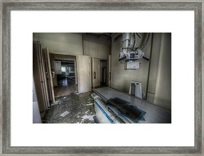 X Ray Room 1 Framed Print