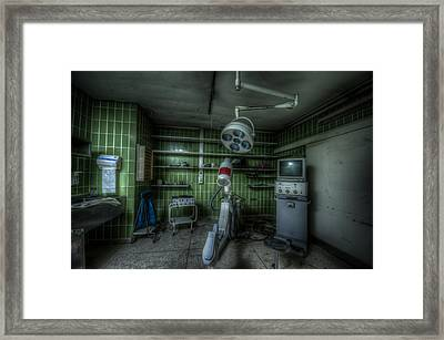 X Ray Room Framed Print by Nathan Wright