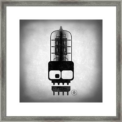 X-ray Tubeskull Framed Print by Milton Thompson