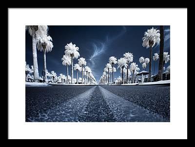 Street Scene Framed Prints