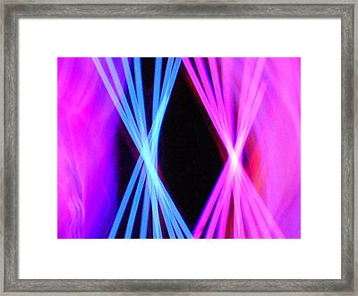 X-tra Framed Print by James Welch