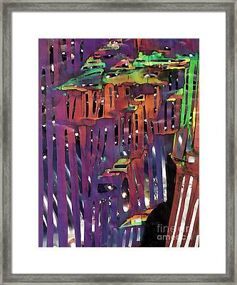 Xanadu Ice Caverns Framed Print by Sarah Loft