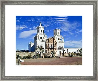 Xavier Tucson Arizona Framed Print by Douglas Barnett