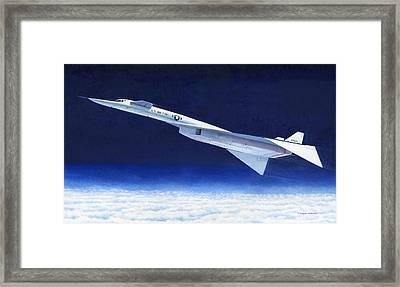 Xb-70 Framed Print