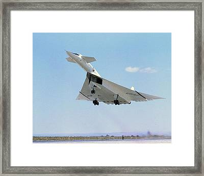 Xb-70 Valkyrie Supersonic Aircraft, 1965 Framed Print