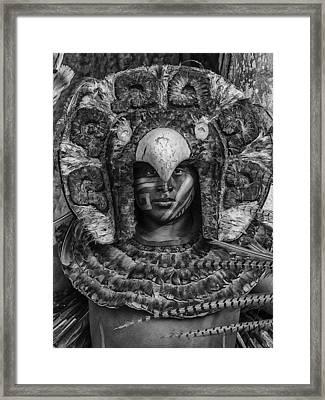 Xcaret Framed Print