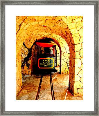 Xcaret To Cancun Framed Print