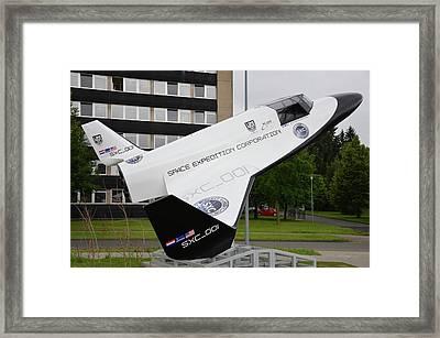 Xcor Lynx Commercial Rocketplane Framed Print