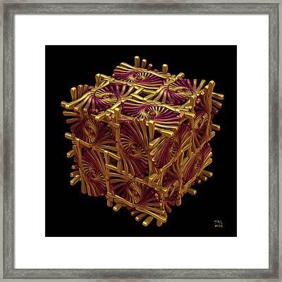 Xd Box Framed Print by Manny Lorenzo