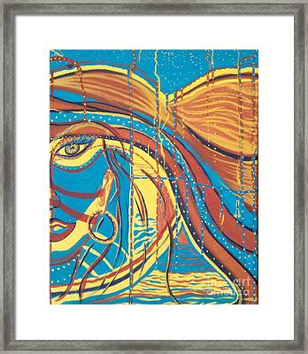 Xenon 1 Framed Print by Adriana Garces