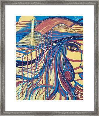 Xenon 2 Framed Print by Adriana Garces