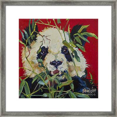 Xi Lan Framed Print by Patricia A Griffin