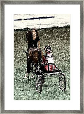 Xivc - World Championship Horse Show - Louisville Ky Framed Print by Thia Stover