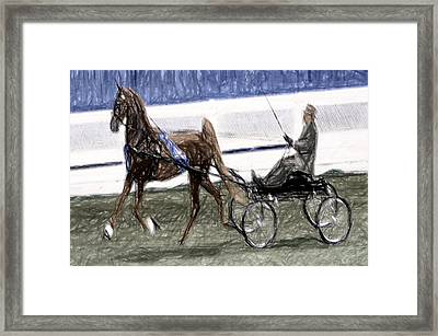 Xive - World Championship Horse Show - Louisville Ky Framed Print by Thia Stover