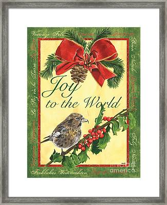 Xmas Around The World 2 Framed Print