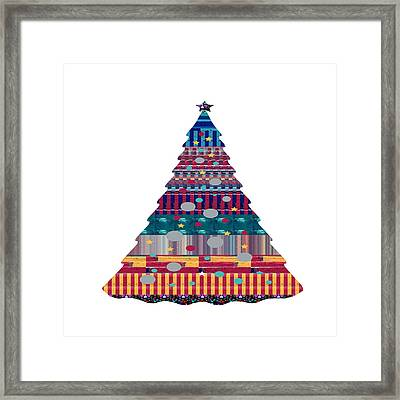 Xmas Christmas Tree Buys Any Faa Product Or Download For Self-printing  Navin Joshi Rights Managed I Framed Print by Navin Joshi