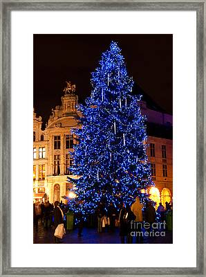 Xmas Colors Framed Print by Syed Aqueel