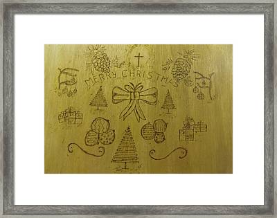 Xmas Framed Print by JJ Oosthuizen