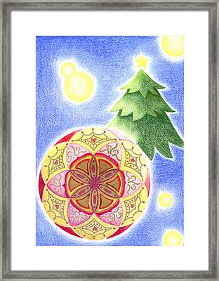 X'mas Ornament Framed Print
