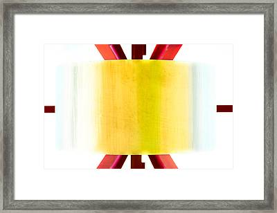 Framed Print featuring the photograph Xo - Color by Darryl Dalton