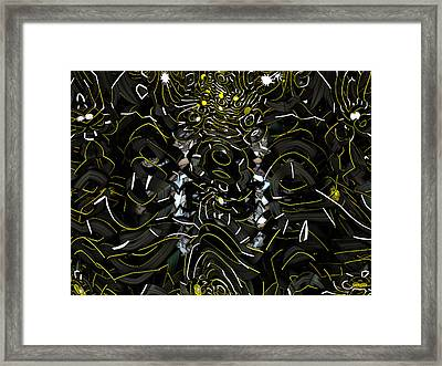 Xog Framed Print by Jeff Iverson