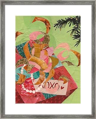 Xoxo Framed Print