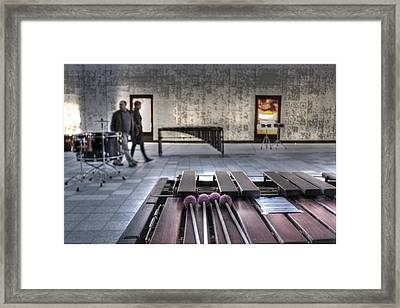 Xylophone Framed Print by Jane Linders