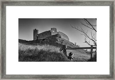 Roche Castle Framed Print by Pro Shutterblade
