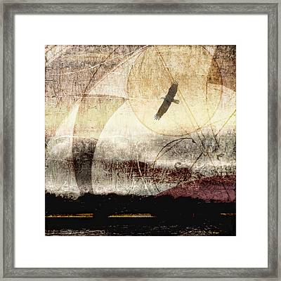 Yachats Eagle Square Format Framed Print