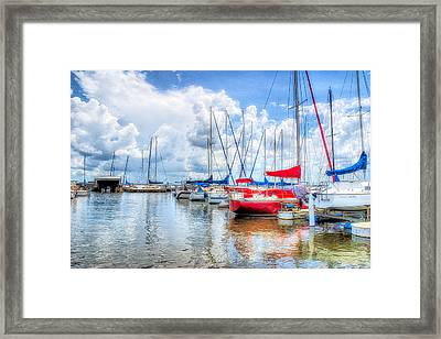 Yacht Club Framed Print