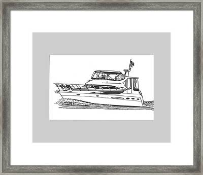 Yachting Good Times Framed Print by Jack Pumphrey