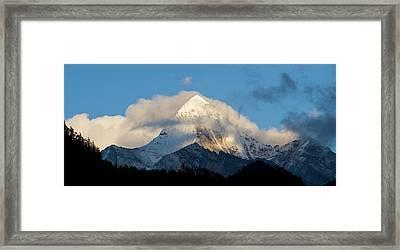 Yading Nature Preserve, Yangmaiyong Framed Print