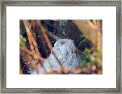 Yahoo Falls Frozen 2 Framed Print