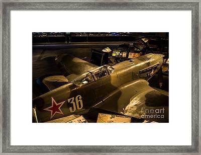 Yak Fighter Framed Print by Rich Priest