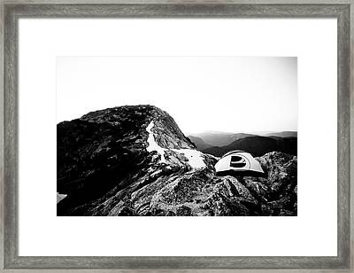Yak Peak Framed Print