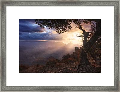 Yaki Point Framed Print by Michael Breitung