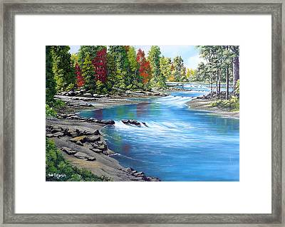 Yakima River Framed Print by Bob Patterson