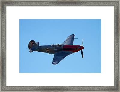Yakovlev Yak-3 - Wwii Russian Fighter Framed Print by David Wall