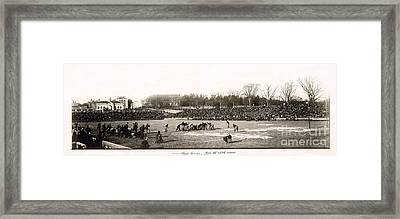 Yale Football Circa 1898 Framed Print