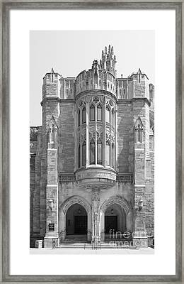 Yale University Sterling Law Building Framed Print by University Icons