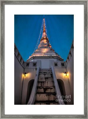 Yan Nawa Temple Framed Print by Adrian Evans